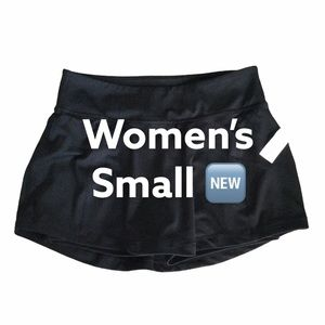 Old Navy S Skort Spanks Shorts Active Black NWT